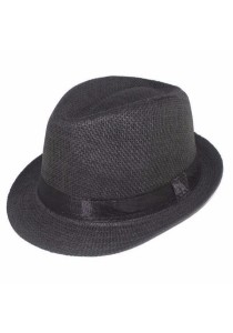 Ladies Room Unisex Modern Fashion Fedora/Trilby Hat With Inner Lining