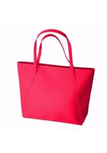 Ladies Room Tote Bag - Dark Pink