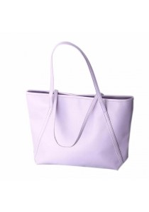 Ladies Room Tote Bag - Light Purple
