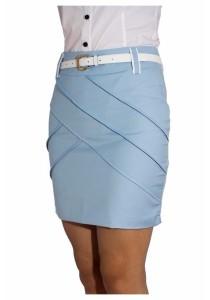 Ladies Room Korean OL Skirt  - Sky Blue