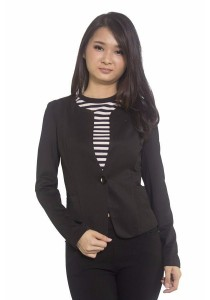 Ladies Room Non-Collar Formal Coat Wear