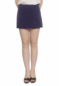 Ladies Room Skirt Pant Shorts - Blue