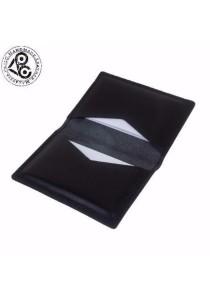 Ladies Room PhilC Handmade Genuine Tanned Leather Bifold Card Holder / Minimalist Wallet