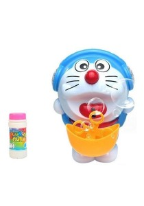 Doraemon Children LED Lantern Bubble Kids Mid Autumn Mooncake