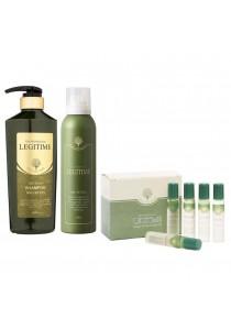 Legitime Age Scalp Shampoo 520ml + Scalp Air Tonic 200g + Deep Clean Scalp Oil 10ml x 8ea Value Set