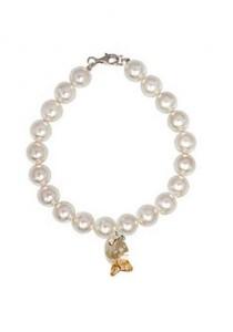 Lenna SWAROVSKI Pearl Charm Bracelet with SWARVOSKI Elements