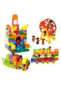 200 pcs Lego Duplo Compatible Building Blocks