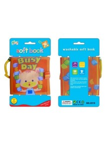 Learning Planet Washable Cloth Book with Ring (Busy Day)