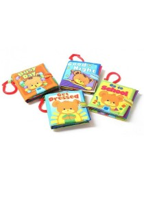 Cloth Book with Ring (Set of 4)