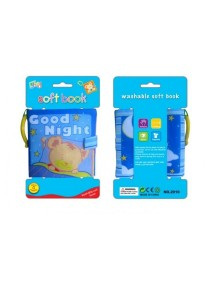 Learning Planet Washable Cloth Book with Ring (Good Night)