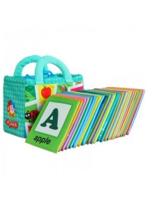Cloth Alphabet Learning Card 0-3 years old (Lala Cloth Book)