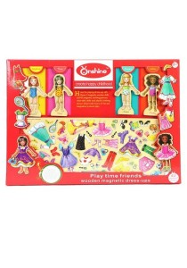 Onshine Wooden Magnetic Dress Up Set (Play Time Friends)