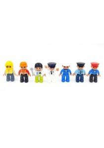 Learning Planet Lego Duplo Compatible Community Figures Set (7 pcs)