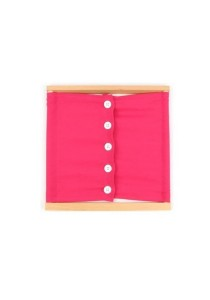 Learning Planet Montessori Button Frame