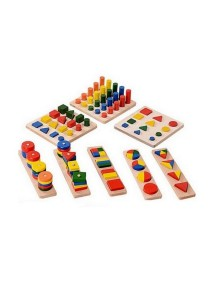 Montessori Teaching And Learning Kits (Set of 8)