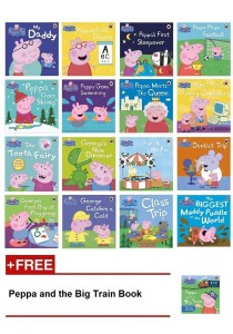 Peppa Pig Books Collection (16 + 1 Book)