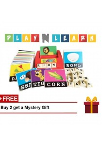 PlayNLearn Children English Spelling Fun Game