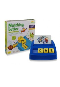 Learning Planet Matching Letter Game (Word Recognition & Spelling)