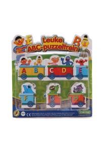 Sesame Street Alphabet Learning Train Puzzle