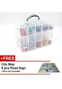 Learning Planet Toy Car Storage Box