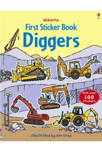 Usborne First Sticker Book Digger