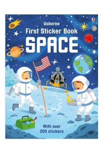 Usborne First Sticker Book Space