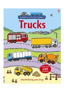 Usborne First Sticker Book Trucks