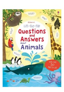 Usborne Lift the Flap Question & Answer about Animals