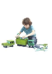 CitiBlocs 100-Piece Cool-Colored Building Blocks