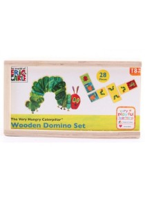 The Very Hungry Caterpillar Pattern Matching Wooden Domino Set (28 pcs)