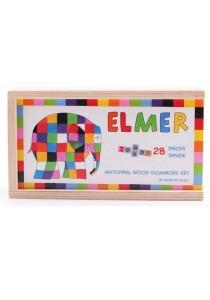 ELMER Pattern Matching Wooden Domino Set (28 pcs)