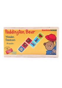 Paddington Bear Pattern Matching Wooden Domino Set (28 pcs)