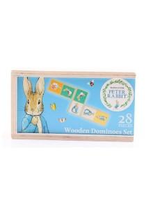 Peter Rabbit Pattern Matching Wooden Domino Set (28 pcs)