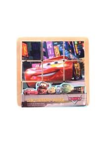 Mini Cars Wooden 3D Puzzle (9 blocks 6 scenes)