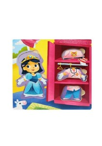 Wooden Girl Dress Up Puzzle