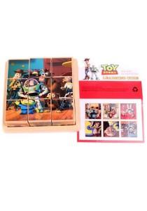 Mini Toy Story 3D Wooden Puzzle (9 blocks 6 scenes)