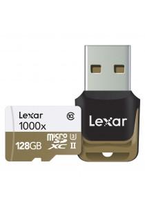 Lexar Professional 128GB 1000x 150MB/s microSDXC UHS-II Memory Card