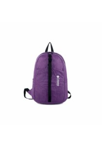 Columbia Foldable & Water Resistant Backpack Bag (Purple)