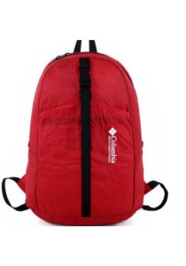 Columbia Foldable & Water Resistant Backpack Bag (Red)