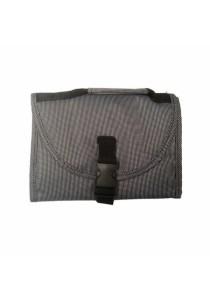 Travel Toiletry Bag Hanging Organizer (Grey)