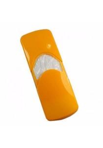 Car Sun Visor Tissue Box/Holder (Yellow)