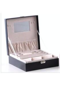 Jewellery and Watch Box (Black)