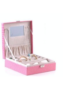 Jewellery and Watch Box (Pink)