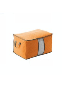 Bamboo Charcoal Storage Bag Organizer Large (Orange)