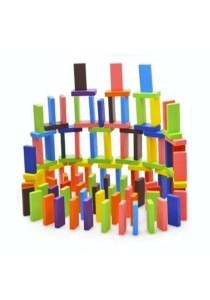 Colourful Wooden Dominoes