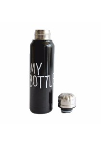 My Bottle Insulated Stainless Steel Water Bottle (Black)