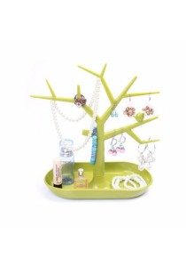 Tree Jewellery Holder Display Stand (Green)