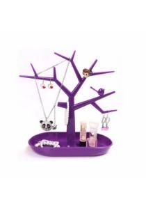 Tree Jewellery Holder Display Stand (Purple)