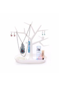 Tree Jewellery Holder Display Stand (White)