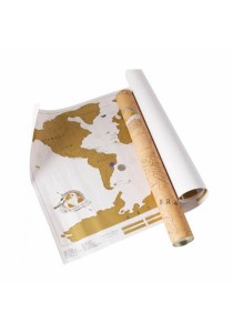 Scratch Travel World Map